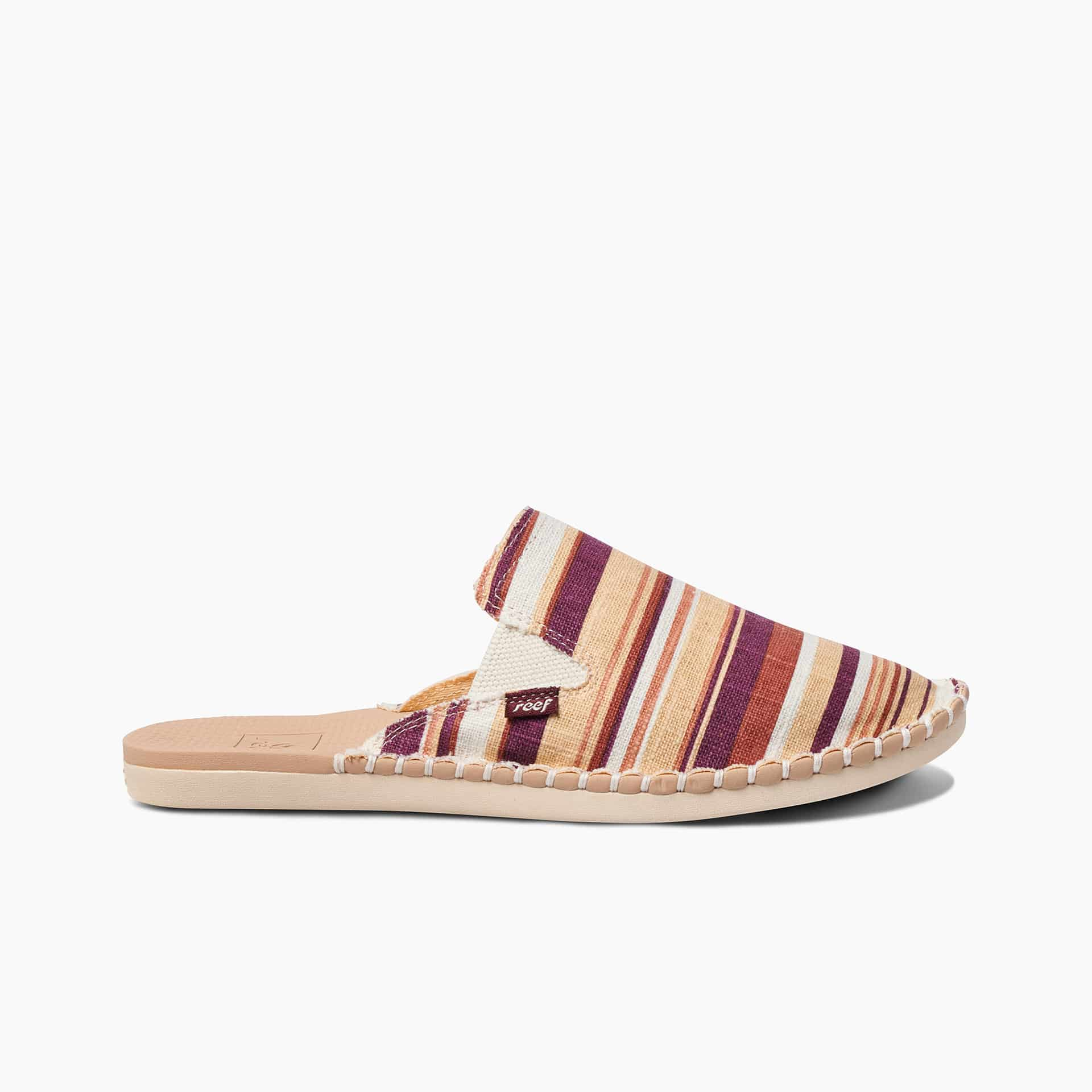 Escape Mule Cream Stripes