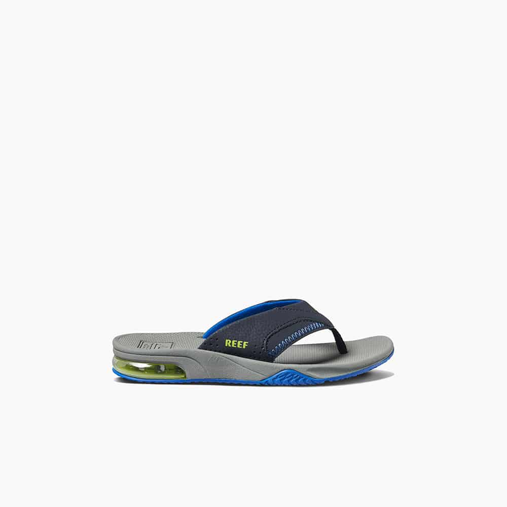 KIDS FANNING NAVY/LIME