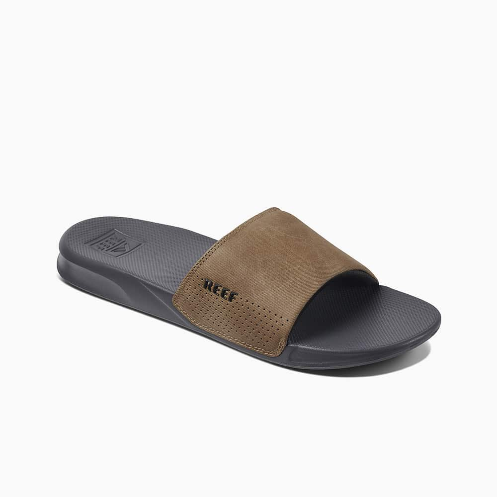 REEF ONE SLIDE GREY/TAN