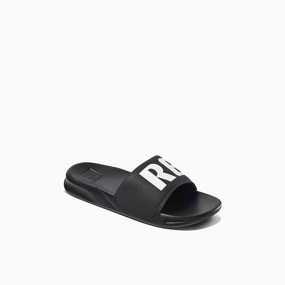 KIDS ONE SLIDE BLACK/WHITE