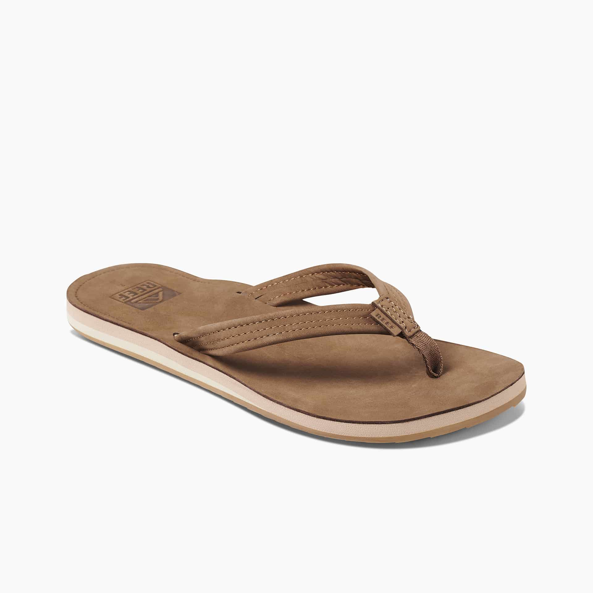 REEF VOYAGE LITE LEATHER CHOCOLATE