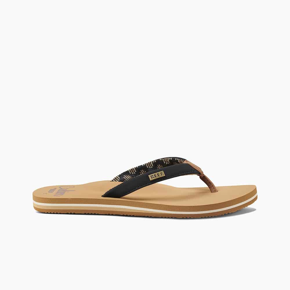 REEF CUSHION SANDS BLACK/TAN
